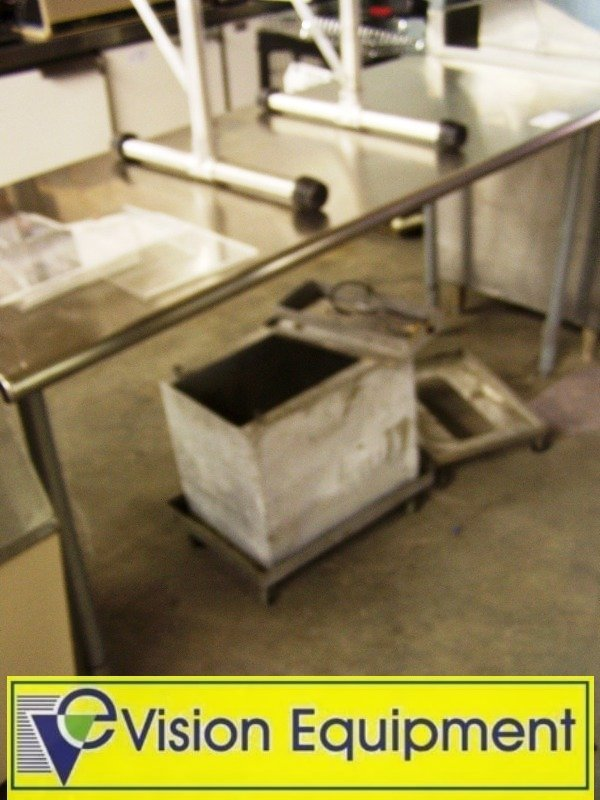 1003: 6' foot Stainless Steel Commercial prep Table