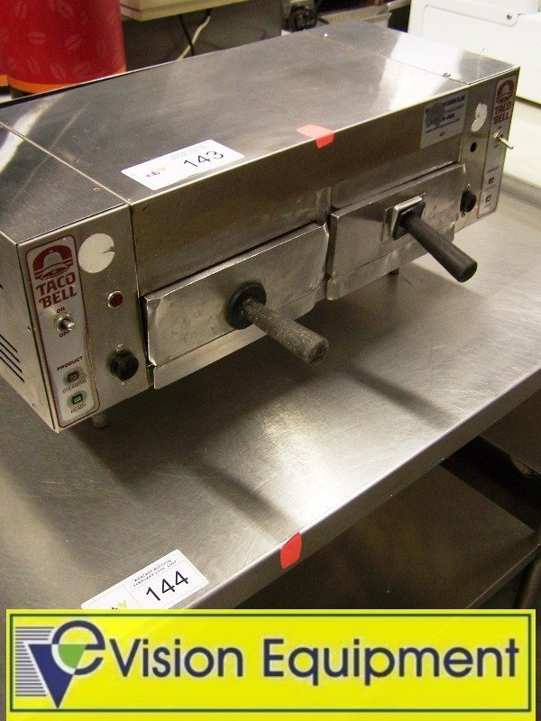 1143: Used Commercial Double Tortilla warmer steamer