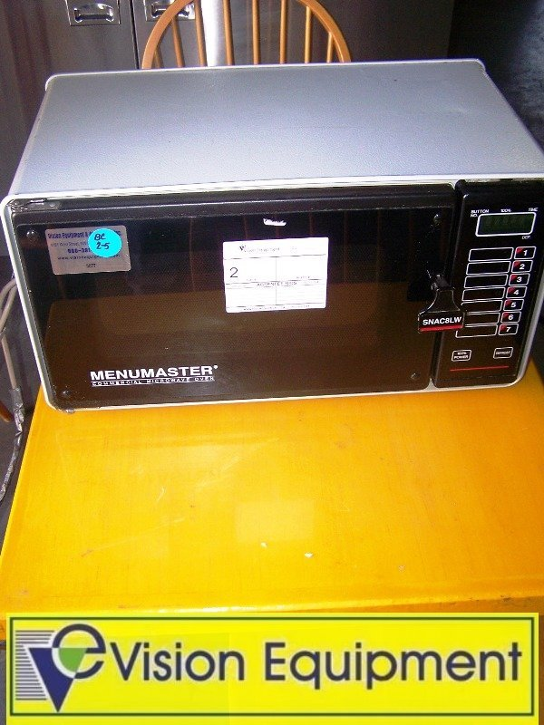 2: MenuMaster Used Commercial Kitchen Microwave Oven