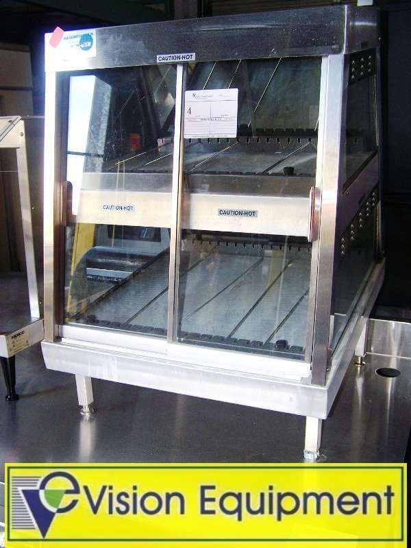 4: Countertop Heated/Lighted Display Commercial Case