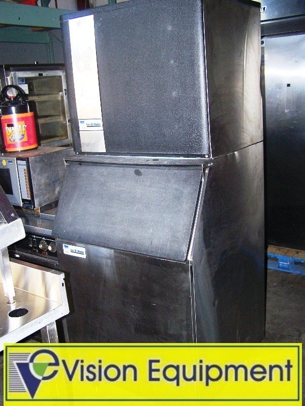 8: Ice O Matic Ice Head/Maker/Machine with Storage Bin