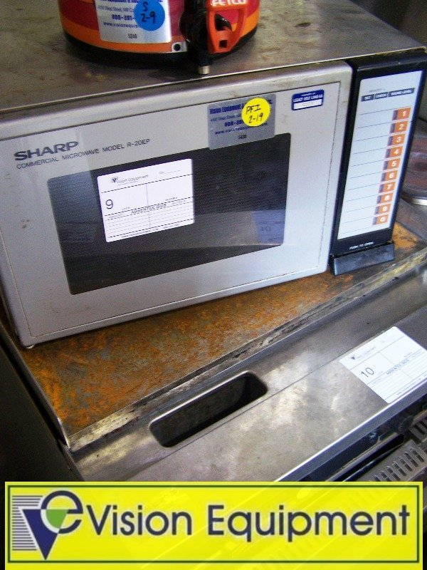 9: Sharp Used Commercial microwave R20-Ep