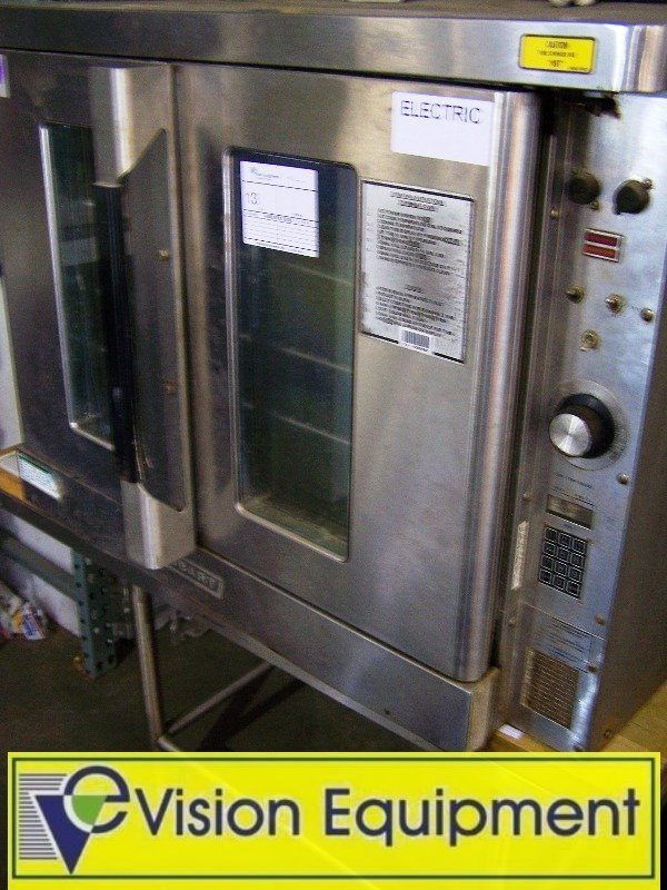 13: Hobart Full Size Electric Convection Oven_Used Comm