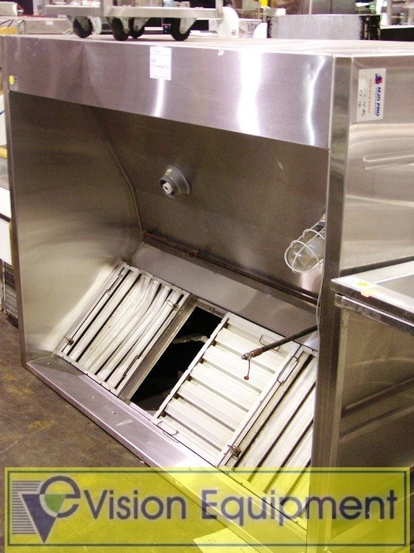 440: Stainless Steel Exhaust Ventilation Hood