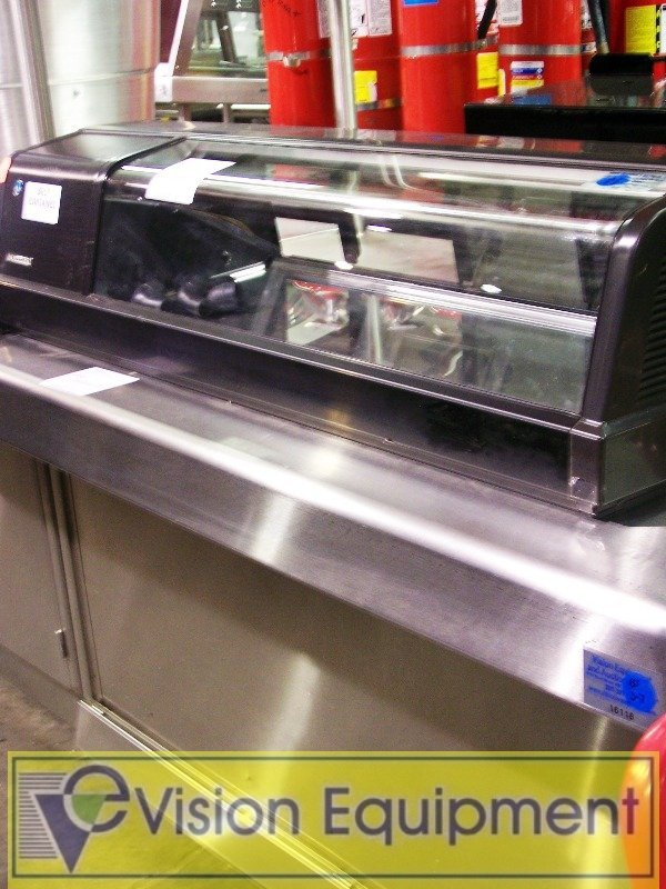 Nice Self Contained Sushi Case Countertop_used