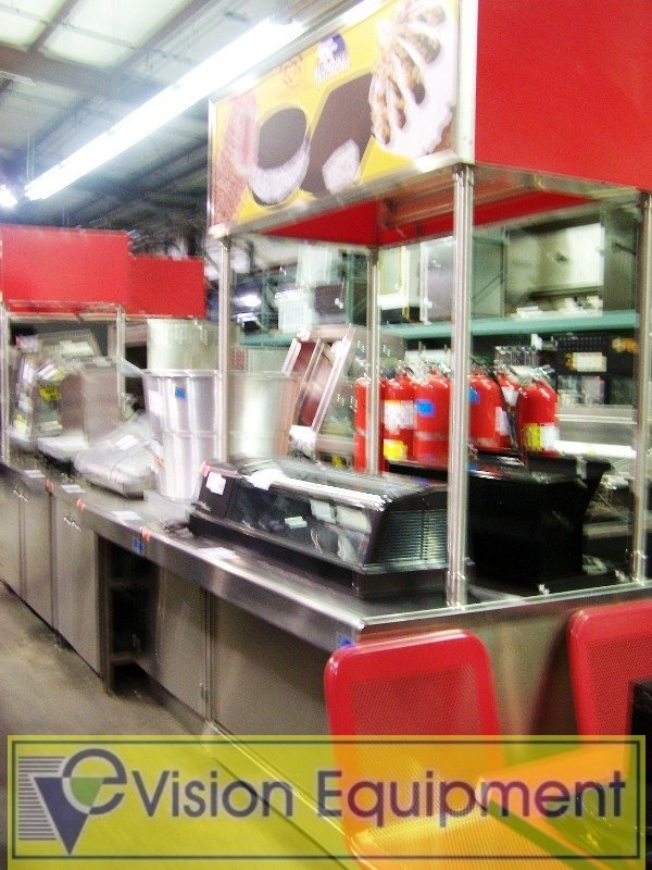 Used Concession Stand/Counter Top