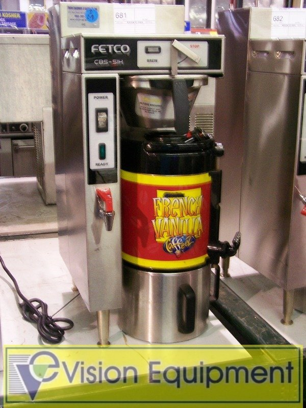 681: Used Fetco Commercial Coffee Brewer/Maker MAchine