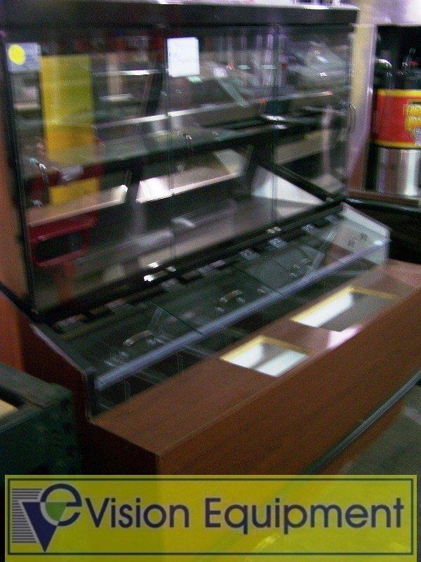 Wall Bakery Donut Display Case