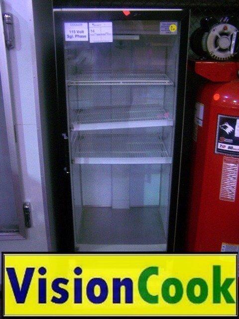 14: 1 Glass Door Cooler/refrigerator