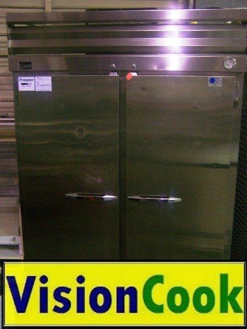 18: Randell 2 Door Stainless Steel Freezer