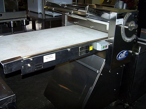 838: FLOOR MODEL Dough Sheeter LVO