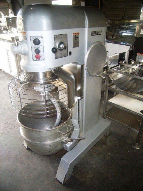 19A: Hobart 60qt Pizza Dough Bakery Mixer