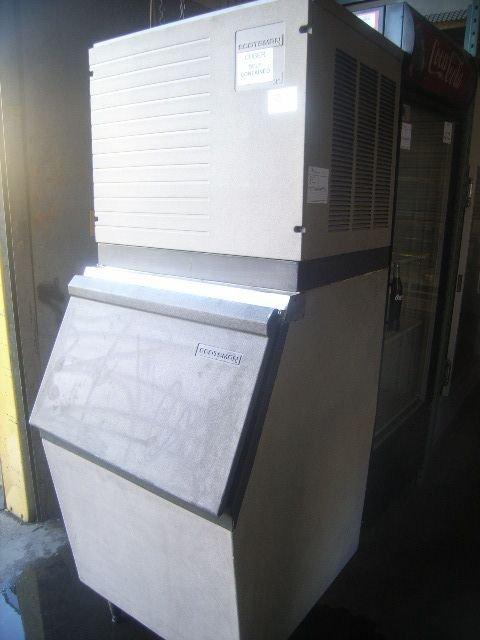 8C: Scotsman 650a Ice Head/Machine with Bin
