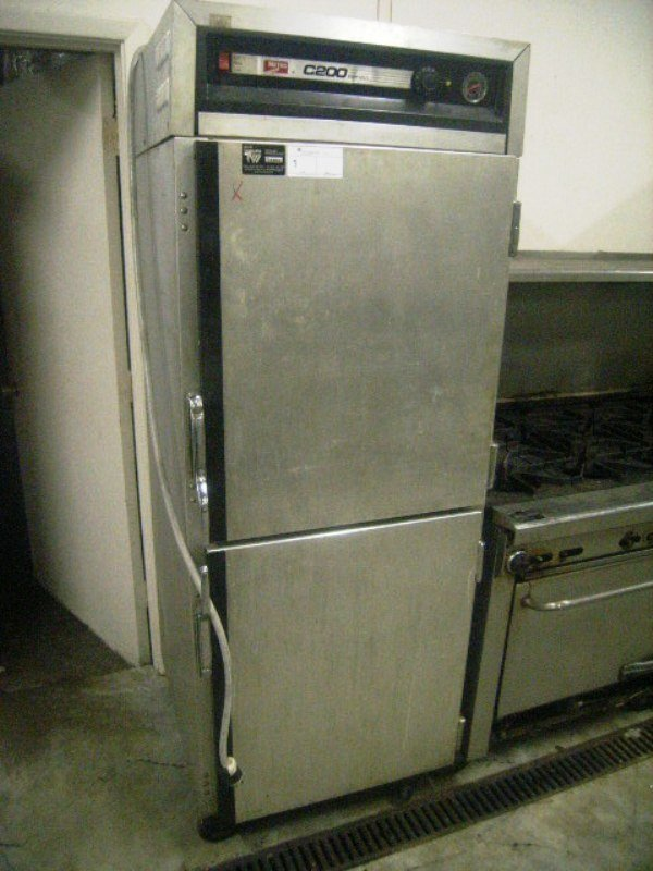 9001: Metro C 200 Heated Holding Cabinet