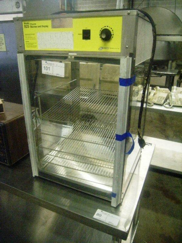 900101: Hot Food Display Merchandiser Model 925