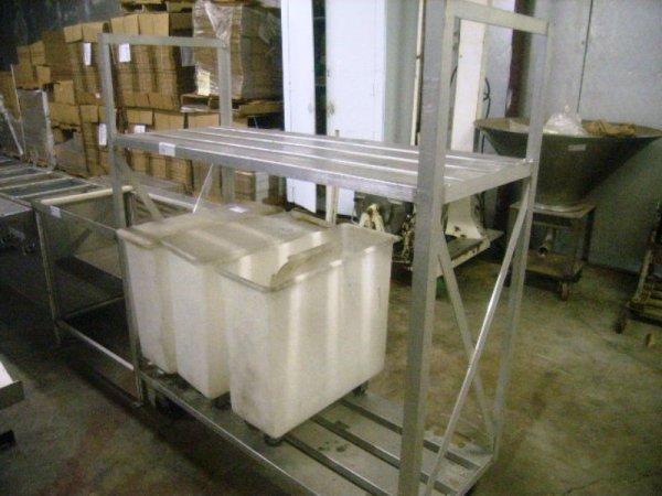 900105: Aluminum Cooler Storage Rack