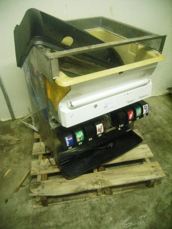 900107: Used Soda Project Dispensing Unit