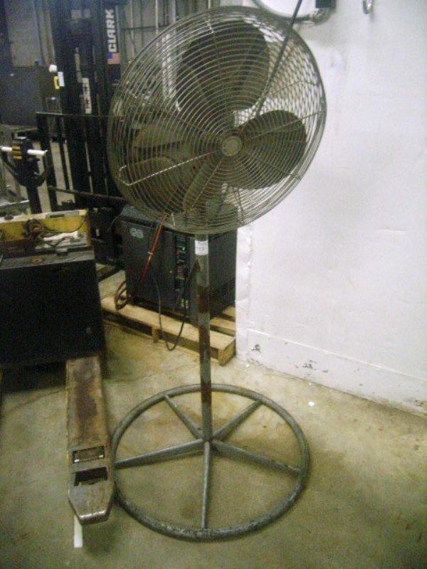 900113: Used 110v Shop Warehouse Fan