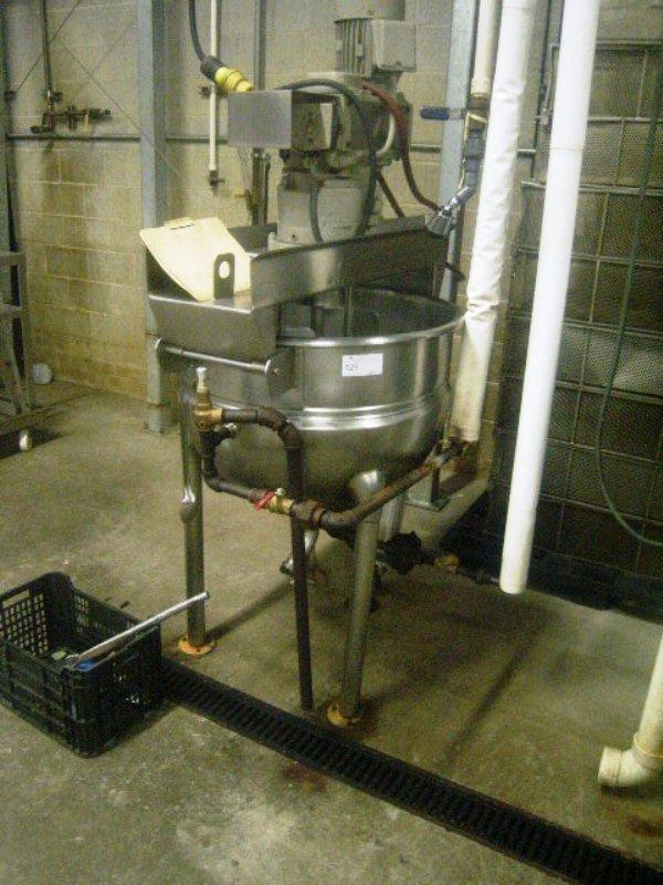 900125: Hamilton Steam Jacket Cooker/Mixer ATM05 50 Gal