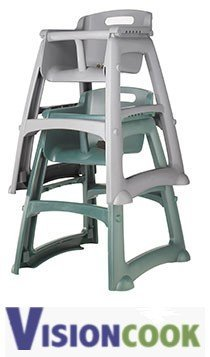 13: New Royal Platinum Youth High Chair w/o Wheels