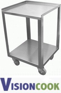 "202: New S/S Donut Cart, 15""W x 15""L x 22""H"