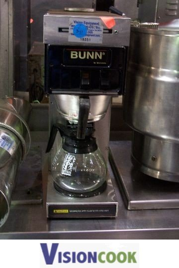 212: Bunn s Series Coffee Brewer/Machine/Maker