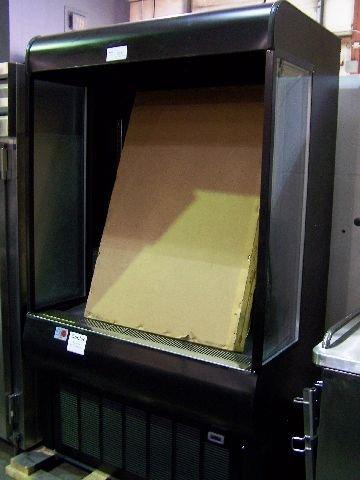 718: Master Bilt Open Front display refrigerator cooler