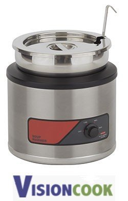 919: New Nemco Electric Round Food Warmer, 11Qt.