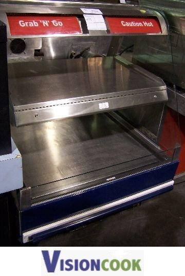 22: 4 foot 2 tier Hot Food Display Merchandiser
