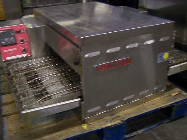 86: Blodgett 1820 Used Electric Pizza Conveyor Pizza Ov