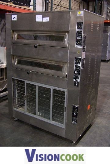 1037: NuVu MDO-2/4/PRO-6 Bread OVen Proofer Bakery