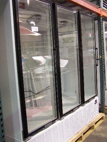 282: Masterbilt 3 Glass Door Freezer Never Used