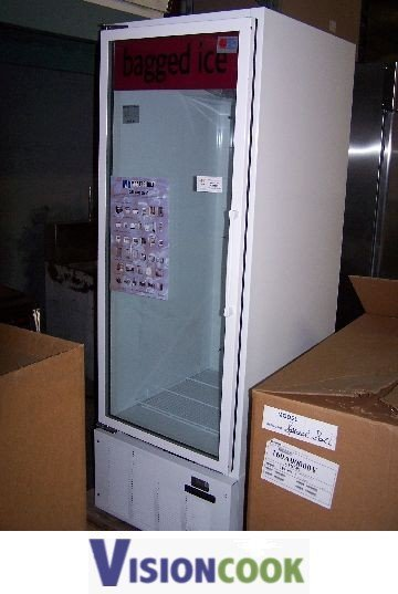 595: Commercial Bagged Ice Merchandiser/Freezer