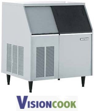 710: 700lb. Under Counter Nugget Ice Machine with Stora