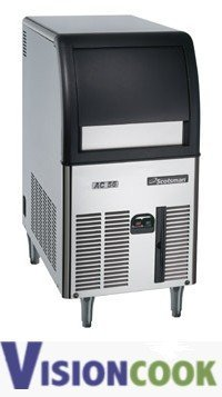 740: 65lb. Compact Undercounter Ice Machine Cuber With