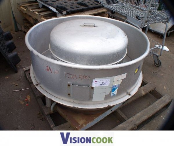 912: Used Commercial Kitchen Exhaust Hood Fan