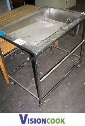 2: Used commercial Kitchen Bakery Glazing Table