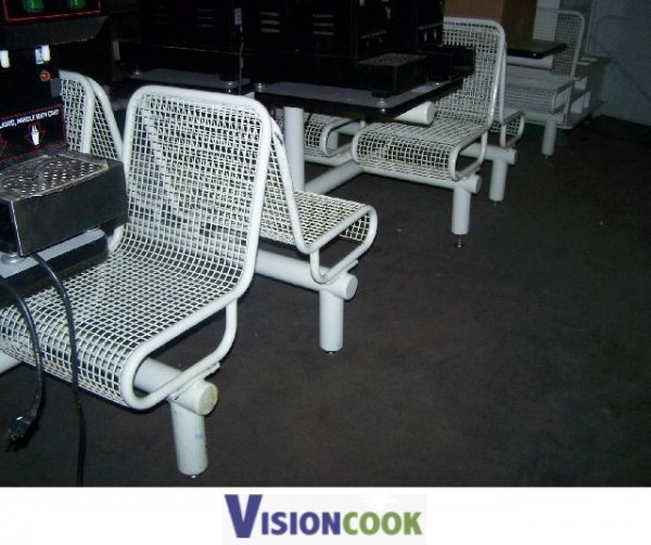10: Used Dining Room Seating Booth Package for 16