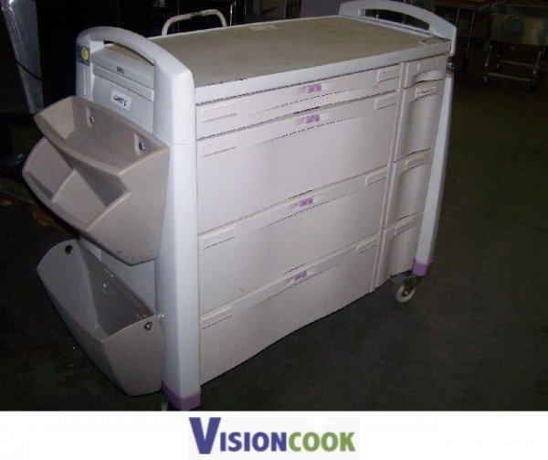 12: Used Warehouse Utility Medical Tool Utensil Cart