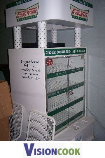 14: Used Commercial Bakery Donut Bagel Display Case