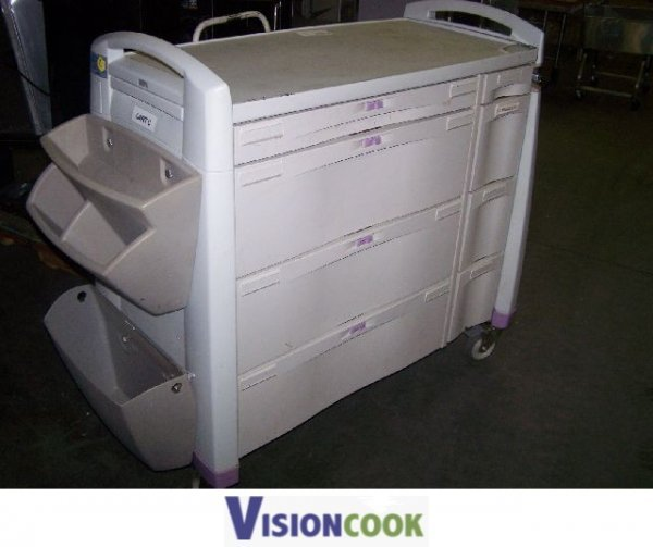 317: Used Warehouse Utility Medical Tool Utensil Cart