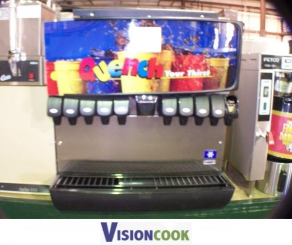 778: Servend Soda Pop Coke Pepsi Fountain Machine