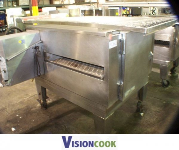 868: Lincoln Impinger Used 1450 Pizza Conveyor Oven GAS