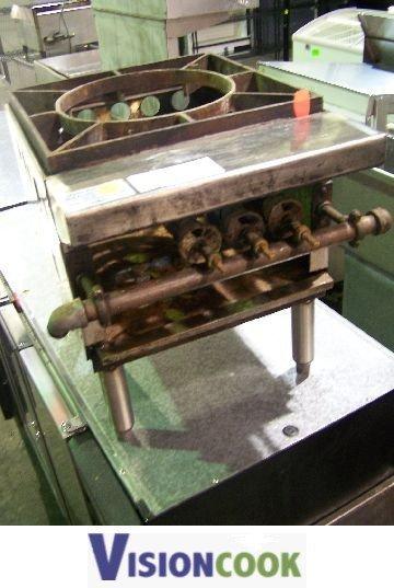 1106: Stock Pot Gas Burner Single Commercial Unit