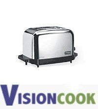 1114: New Waring Commercial Chrome Toaster 2 Slice