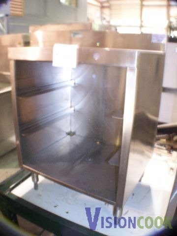 1503: Supreme Metal Bar Drain Table Stainless Steel
