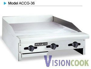 1: New American Range Concession Griddle, 24x24x10.5 w/