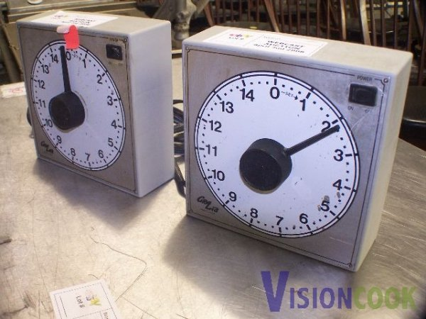 211: lot of 2 Kitchen food Cooking timers