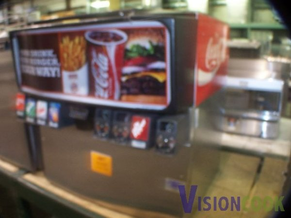 475: Used 8 head Commercial Soda Dispenser Fountain