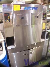 667: AutoFry Double 2 hopper Ventless Fryer